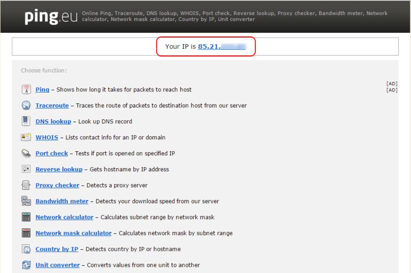 Онлайн статус сервера для сайта фиксированный ip адрес хостинг