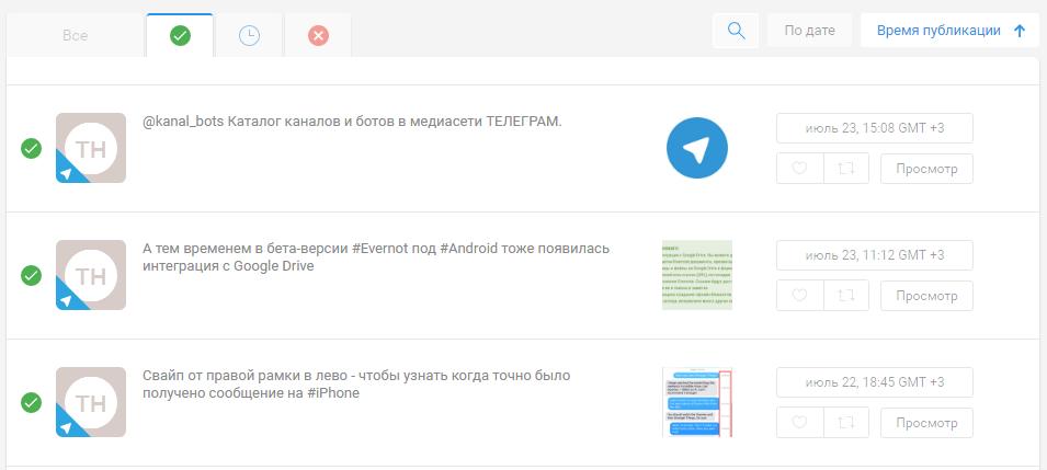 Контент-план в Telegram