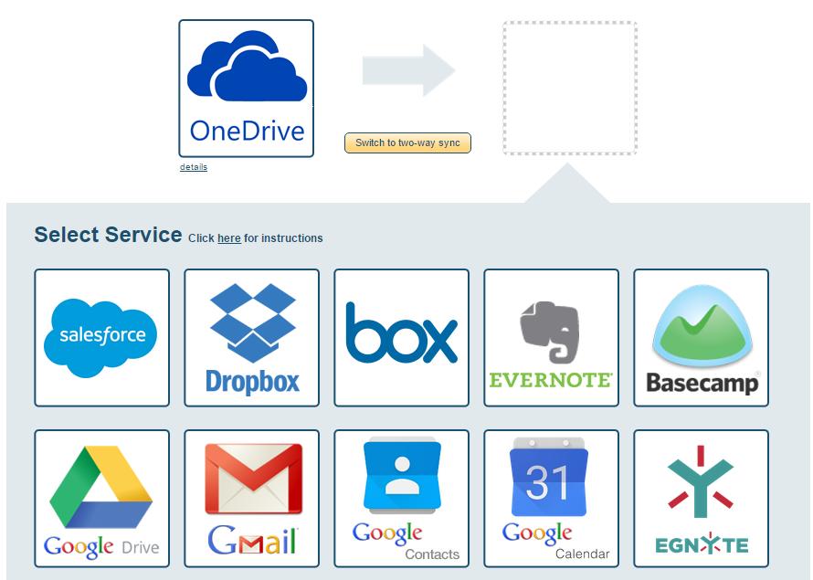 Экспорт файлов с помощью cloudHQ