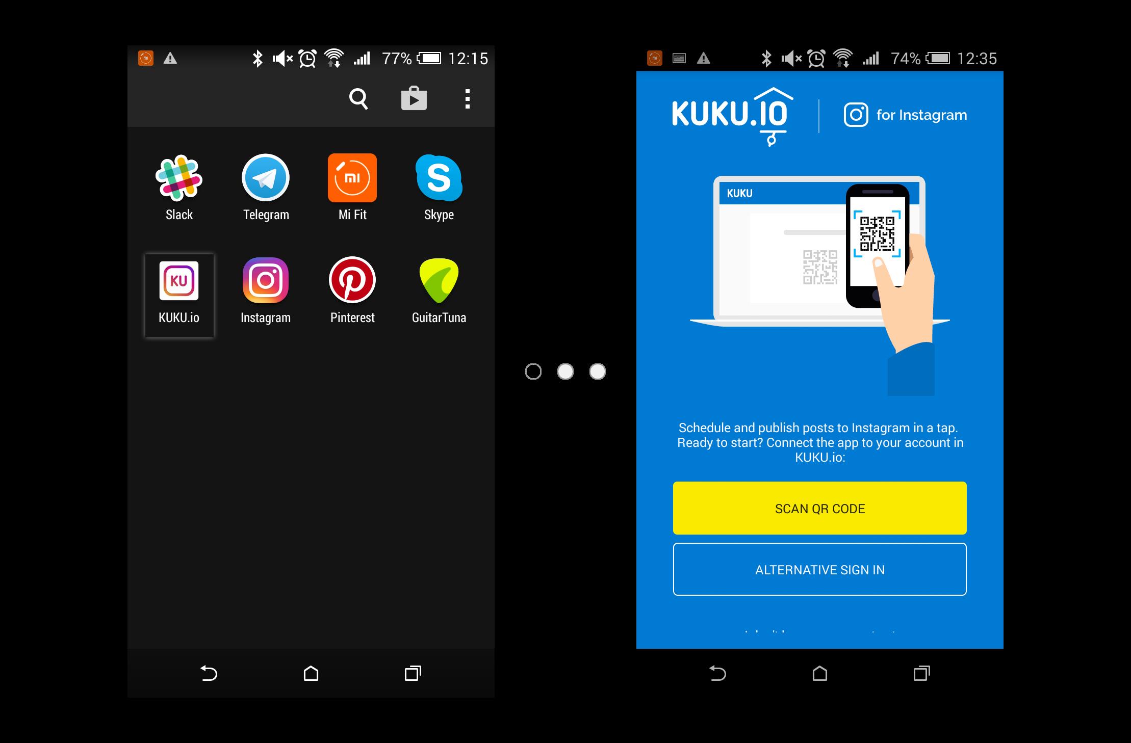 Android приложение KUKU
