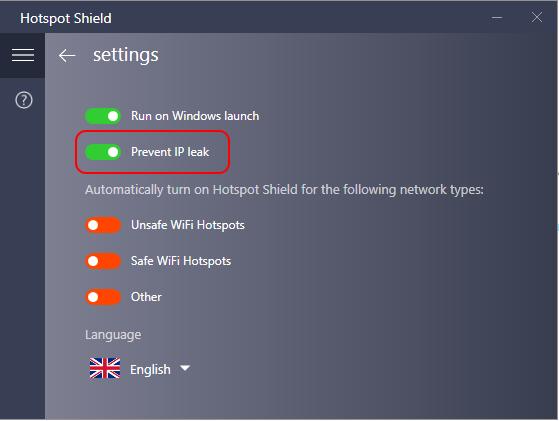 Защита от утечек IP в Hotspot Shield