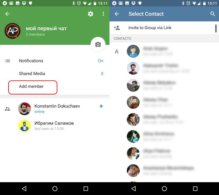 Чаты в Telegram  Как создать и зачем нужно?