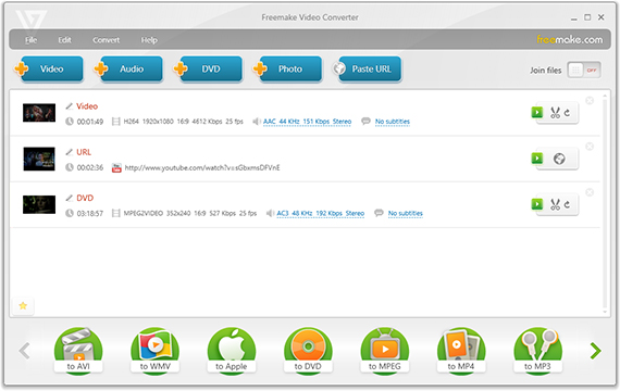 fFreemake Video Converter