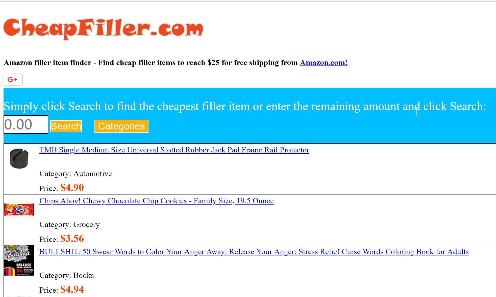 CheapFiller