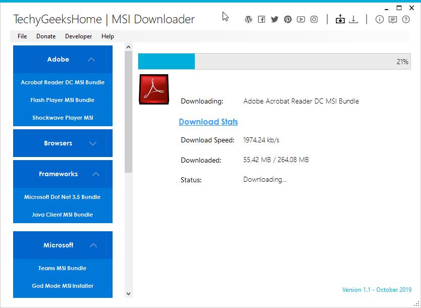 MSI Downloader