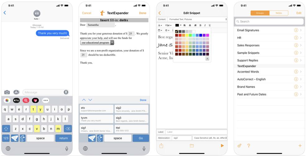 TextExpander (iOS)
