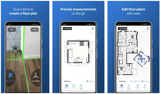 Измерить комнату с помощью смартфона
