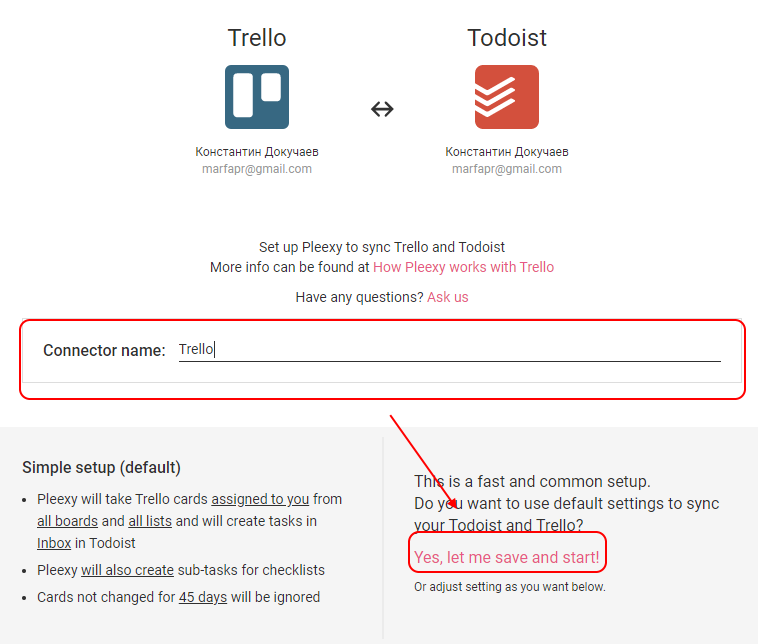 Pleexy Smart Task Synchronisation With Todoist