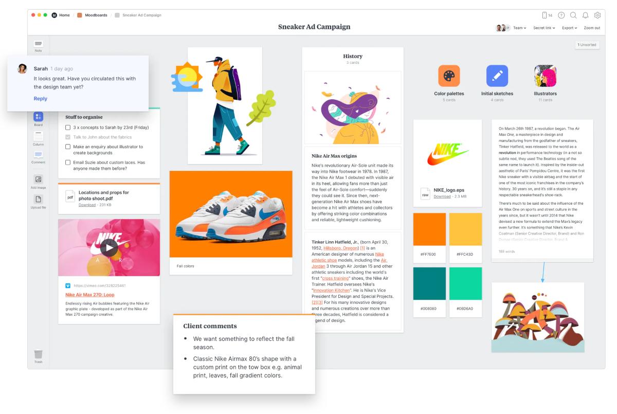 Обзор Milanote. Сервис заметок для творческих профессий