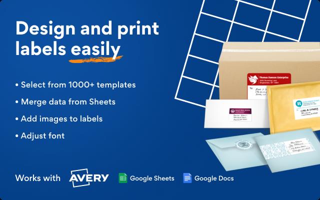Как распечатать лейблы на основе Google Таблиц