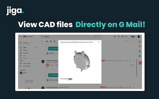 Как добавить просмотр 3D CAD файлов в Gmail